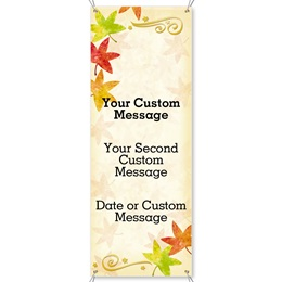 Autumn's Fancy Vertical Banners