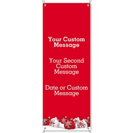 Snowflake Wishes Vertical Banners