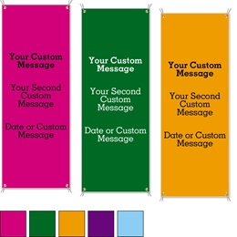 Brights Vertical Banners