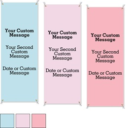 Pastel Vertical Banners