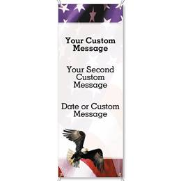 Freedom Vertical Banners