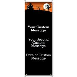 Haunted Hill Vertical Banners