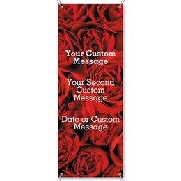 Red Red Rose Vertical Banners