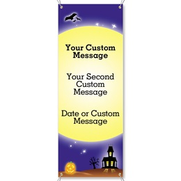 Spooky House Vertical Banners