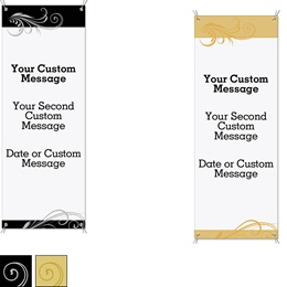 Stylish Vertical Banners