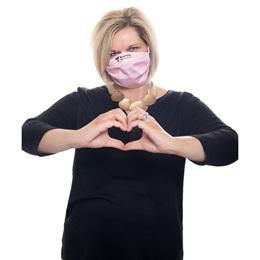 Custom 3-Ply Pleated Face Mask