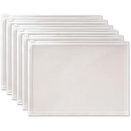 Clear Zip-Closure Plastic Envelopes